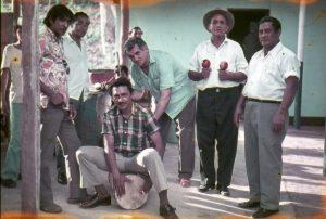 Tambor,palero y maracas San Rafael de Orituco1974